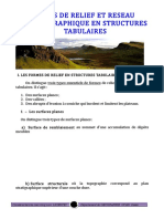 Ob 557f53 Formes de Relief Et Reseau Hydrographique en Stru