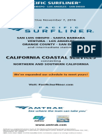 Amtrak Pacific Surfliner Schedule