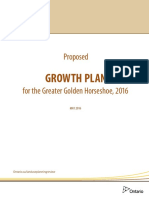 Proposed Growth Plan for the Greater Golden Horseshoe-2016