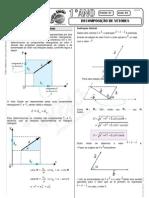 Física - Pré-Vestibular Impacto - Vetores - Decomposição