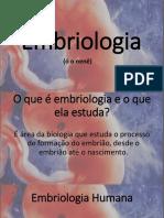 Embriologia - Luciana Taliano