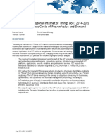 IoT Worldwide Regional 2014 2020 Forecast