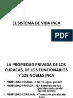 El Sistema de Vida Inca