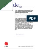 Tradedx Brochure