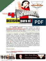 4 Disparadores de DECISION para El EXITO Con Sandro Benecci Conferencista Escritor y Coach Internacional