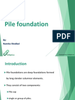 Pile Foundation Ppt