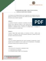 Convencion Interamericana Sobre Conflictos de Leyes en Materia de Adopcion