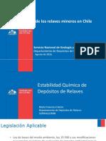 Situación de Los Relaves Mineros en Chile