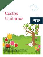 Costos Unitarios