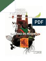 Caderno de Resumos Congresso Internacional