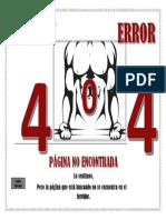Error 404 - Diseño Web (1)