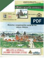 Historia Organizacion Social Mayas Clasicos