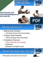 Presentasi Jurusan Tkj Smk Madyatama Pada Mos 2017