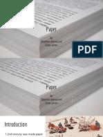 Paper by Alejandro Alvernia And
