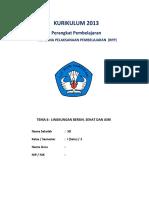 RPP K13 SD KELAS 1 - Revisi 2016 Tema 6 - Lingkungan Bersih-Sehat Dan Asri-subtema 1