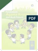 Buku Pegangan Siswa Agama Kristen SMA Kelas 12 Kurikulum 2013