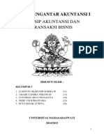 Tugas Prinsip Akuntansi Dan Transaksi Bisnis