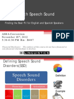 1387 Success With Speech Sound Disorders