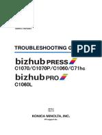BizhubPRESSC1070 Troubleshooting Guidev1.9E