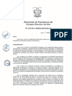 Modelo de Acreditación Institucional de Universidades - Resolución 279-2017-SINEACE-CDAH-P