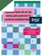 Claves Para Promover La Conducta Autodeterminada