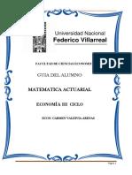 Guia de Matematica Actuarial 2014 Primera Parte