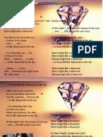 esl Rihanna diamonds Activities With Music Songs Nursery Rhymes Convers 42539