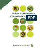 Comendo Bem- Bebês e Crianças Veganas (Até 5 Anos)