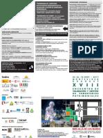 Anexo 3 Programación General XVIII Encuentro