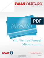 8 - Fiscal Del Peronal MX - Parametrización V01