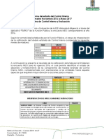 Informe Oficina MECI Marzo 2017