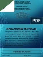 MARCADORES-TEXTUALES