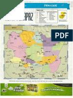 Mapa Politico Alta Verapaz
