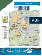 Mapa Politico Guatemala Departamento