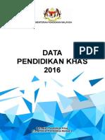 Buku Data Pendidikan Khas 2016 PRINT
