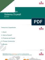 Capacitación Drywall Promart