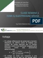 Instalaciones Eléctricas Clase 1