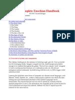 The Complete Enochian Handbook