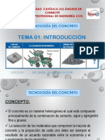 INTRODUCCION - Tecnologia Del Concreto