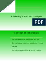 2. Job Design and Job Analysis
