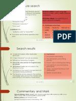 Background Literature Search Methodology