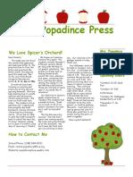 newsletter 10-13-17