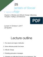 _Chapter 6, Attitudes (Slide)