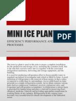 Mini Ice Plant Report