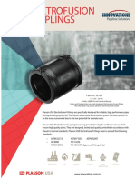 Innovations Plasson Electrofusion Couplings