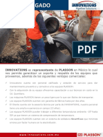 Innovations Electro Plasson Ventajas Comerciales Innovations