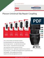 Innovations Plasson Slip Repair Coupler