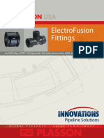 INNOVATIONS Plasson USA ASTM ElectroFusion Fittings