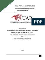 Universidad Privada Alas Peruanas Aida