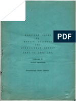 Index Mystic Triangle and Rosicrucian Digest 1923-1943
